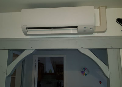 PAC AIRAIR Quadri-Split Daikin + Ballon Thermodynamique
