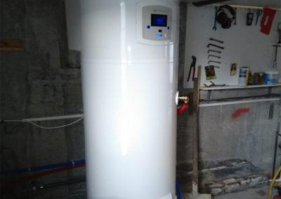 PAC AIREAU 11KW + Ballon Thermodynamique 270 Litres