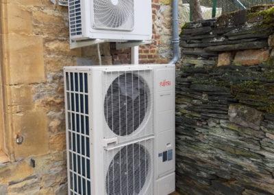 PAC AIREAU 16KW Haute température Atlantic Alfea Excellia + Ballon thermodynamique 270 Litres - Dept 08