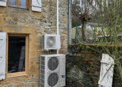 PAC AIREAU 16KW Haute température Atlantic Alfea Excellia + Ballon thermodynamique 270 Litres