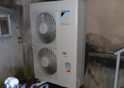 Pompe à chaleur AIREAU Daikin 11KW – Meuse