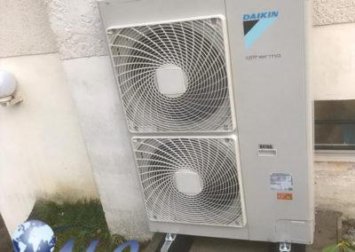 Pompe à chaleur AIREAU Daikin 11KW – Oise