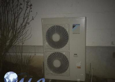 Pompe à chaleur AIREAU Daikin 11KW – Nièvre