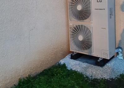 Pompe à chaleur AIREAU 16kw avec Ballon Thermodynamique 270 Litres – Moselle