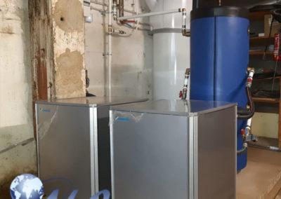 Pompe à chaleur AIREAU 35KW avec Ballon Thermodynamique 270 Litres – Moselle