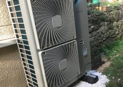 Pompe à chaleur AIREAU 11KW Daikin Altherma Haute Température – Seine-et-Marne