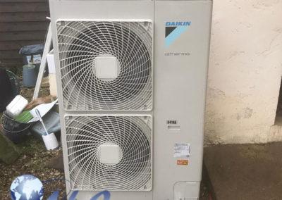 Pompe à chaleur AIREAU 14 KW avec Ballon Thermodynamique 270 Litres – Haute-Marne