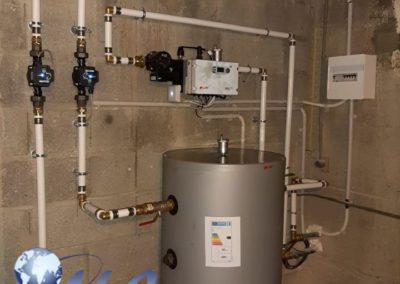 Pompe à chaleur AIREAU 35kw avec Ballon Thermodynamique 270 Litres – Doubs
