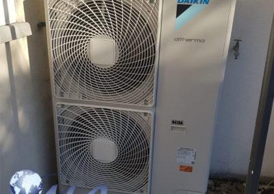 Pompe à chaleur AIR EAU 16kw avec Ballon Thermodynamique 250 Litres – Aube