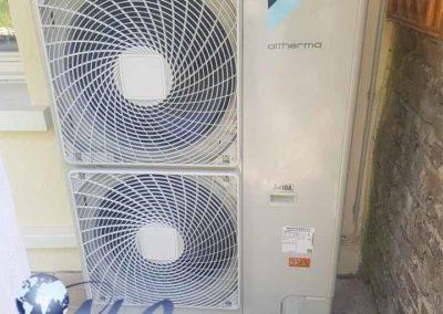 Pompe à chaleur AIR EAU 16kw avec Ballon Thermodynamique 200 Litres – Aube
