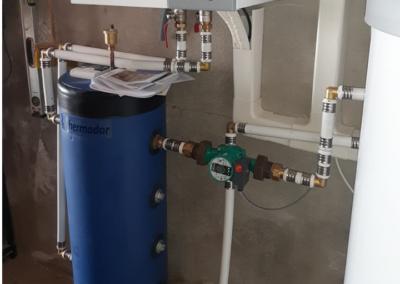 Pompe à chaleur AIR EAU 11kw avec Ballon Thermodynamique 250 Litres – Yonne
