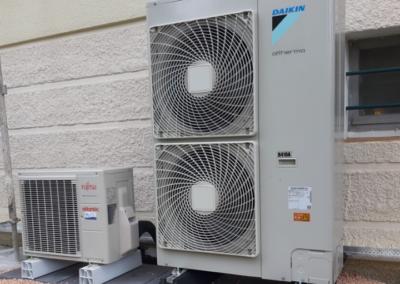 Pompe à chaleur AIR EAU 11kw avec Ballon Thermodynamique 270 Litres – Aube